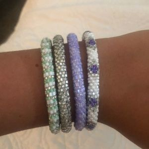 Lilly and Laura bracelets